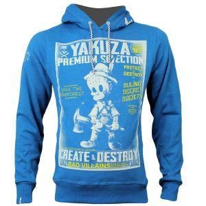 Yakuza Premium sweater hoody YPH 2825 (blue)