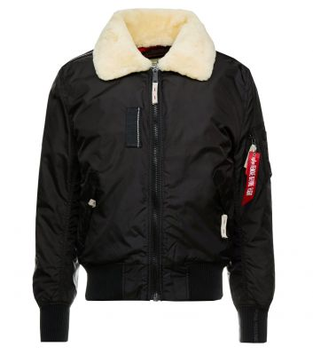Bunda Alpha Industries Injector III (black/beige)
