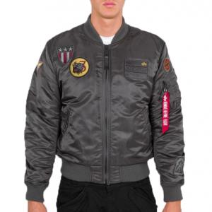 Alpha Industries MA-1 Air Force (greyblack)