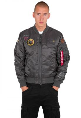 Alpha Industries MA-1 Air Force (greyblack)