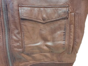 Alpha Industries kožená bunda G1 Leather - Etappa
