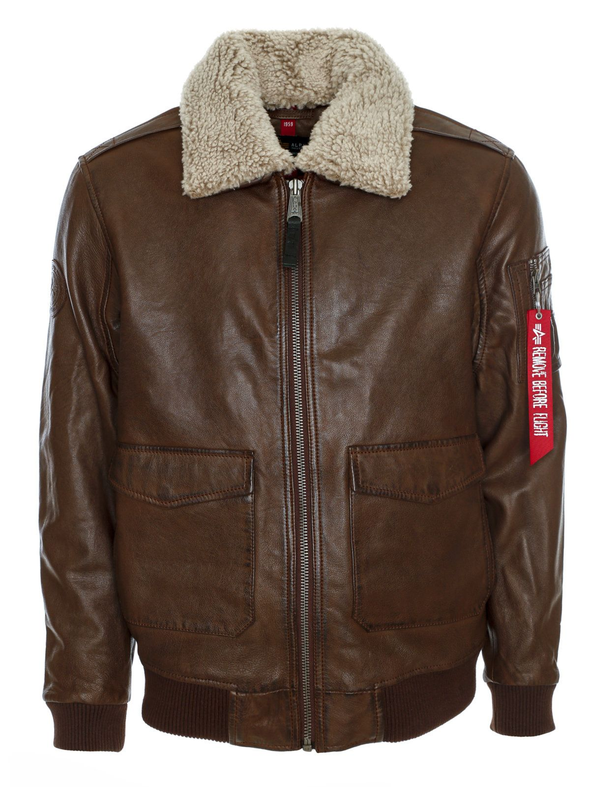 Alpha Industries G1 Leather Jacket