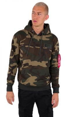 Alpha Industries Back Print Hoody Camo