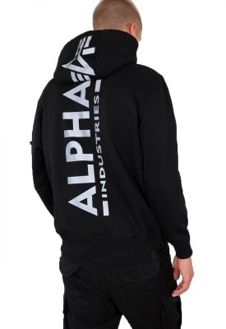Alpha Industries Back Print Hoody RP (black)