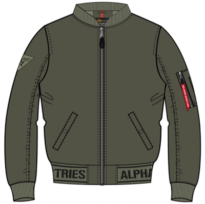 Alpha Industries  MA1 LW AR (dark olive)