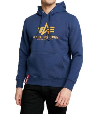Alpha Industries Basic Hoody (new navy/wheat)