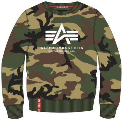 Alpha Industries Basic Sweater Camo (wdl)
