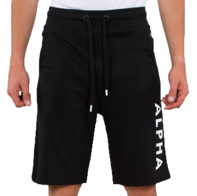 Alpha Industries Alpha Jersey Short (black)