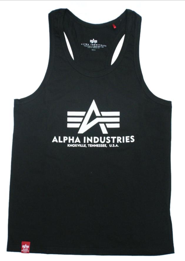 Alpha Industries pánské tílko Basic Tank BB (černé) - Etappa