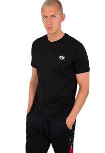 Alpha Industries pánské triko Backprint (černé) - Etappa