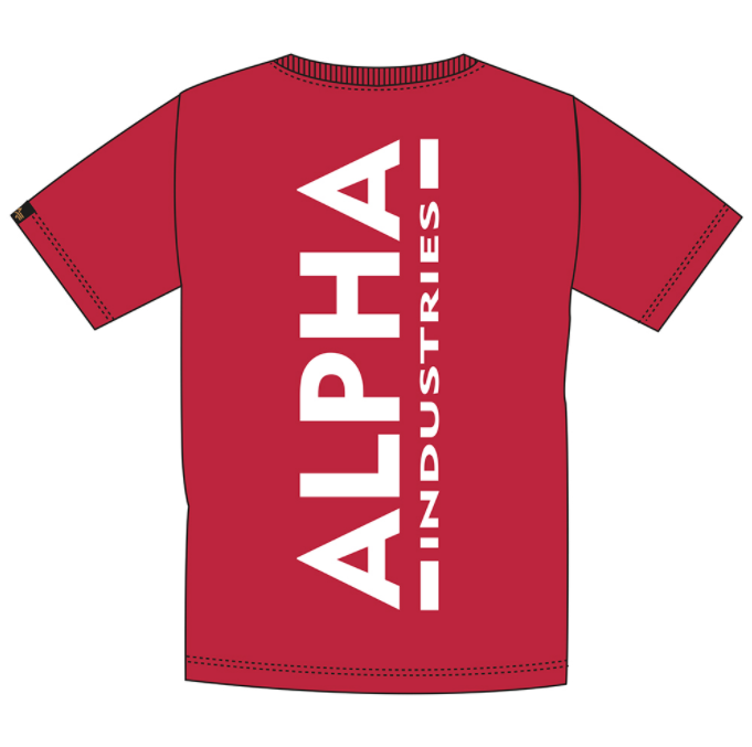 Alpha Industries Backprint T