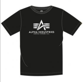 Alpha Industries Basic T FP (black/metalsilver)