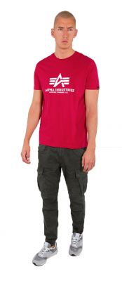 Alpha Industries Basic T (RBF Red)