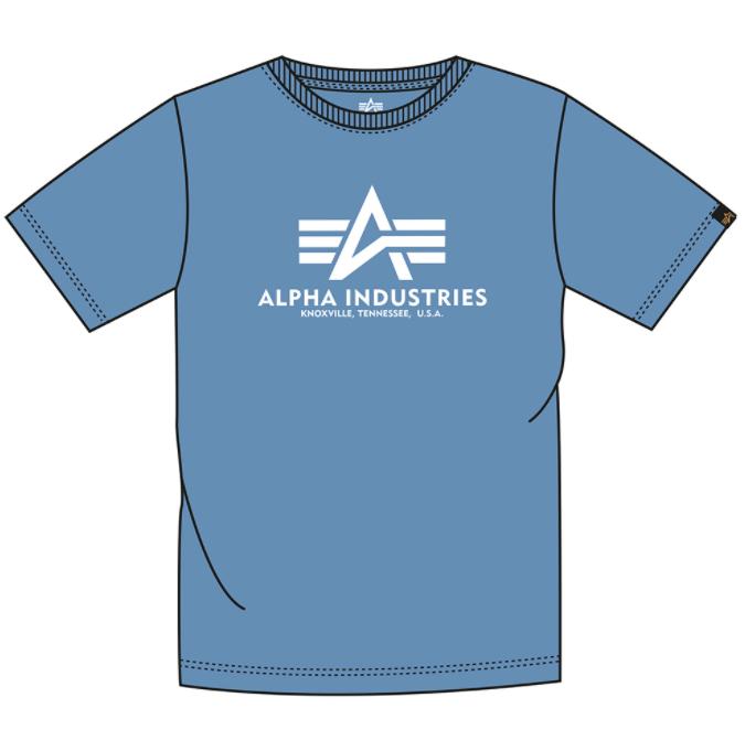 Alpha Industries Basic T (airforce blue)