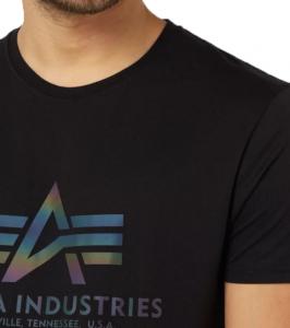 Alpha Industries Basic T Rainbow