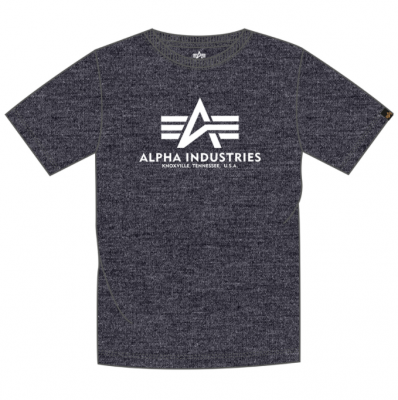 Alpha Industries Basic T (charcoal/white)