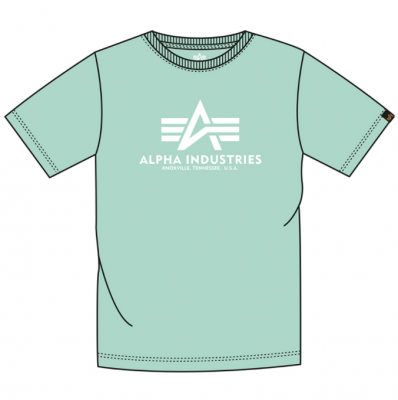 Alpha Industries Basic T (mint)