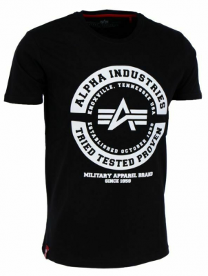 Alpha Industries TTP T (black/white)
