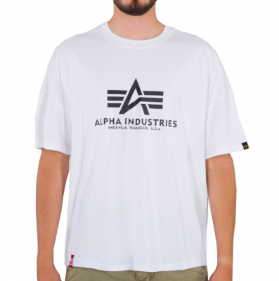 Alpha Industries Basic OS Heavy T (white)