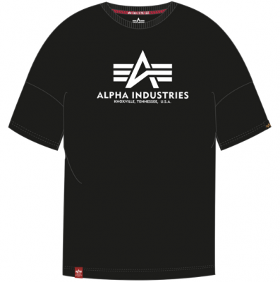 Alpha Industries Basic OS Heavy T (black)
