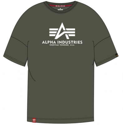 Alpha Industries Basic OS Heavy T (dark olive)