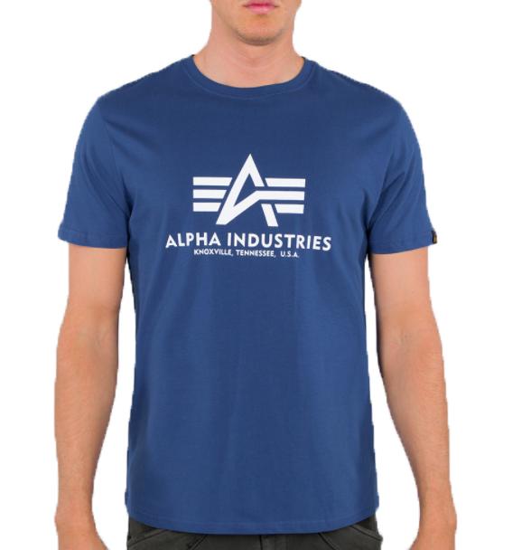 Alpha Industries triko Basic (NASA blue)