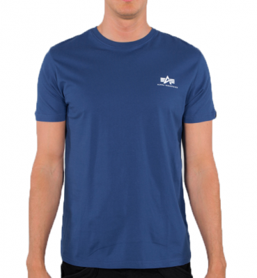 Alpha Industries Basic T Small Logo (NASA blue)