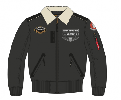 Alpha Industries Injector III Air Force (black)