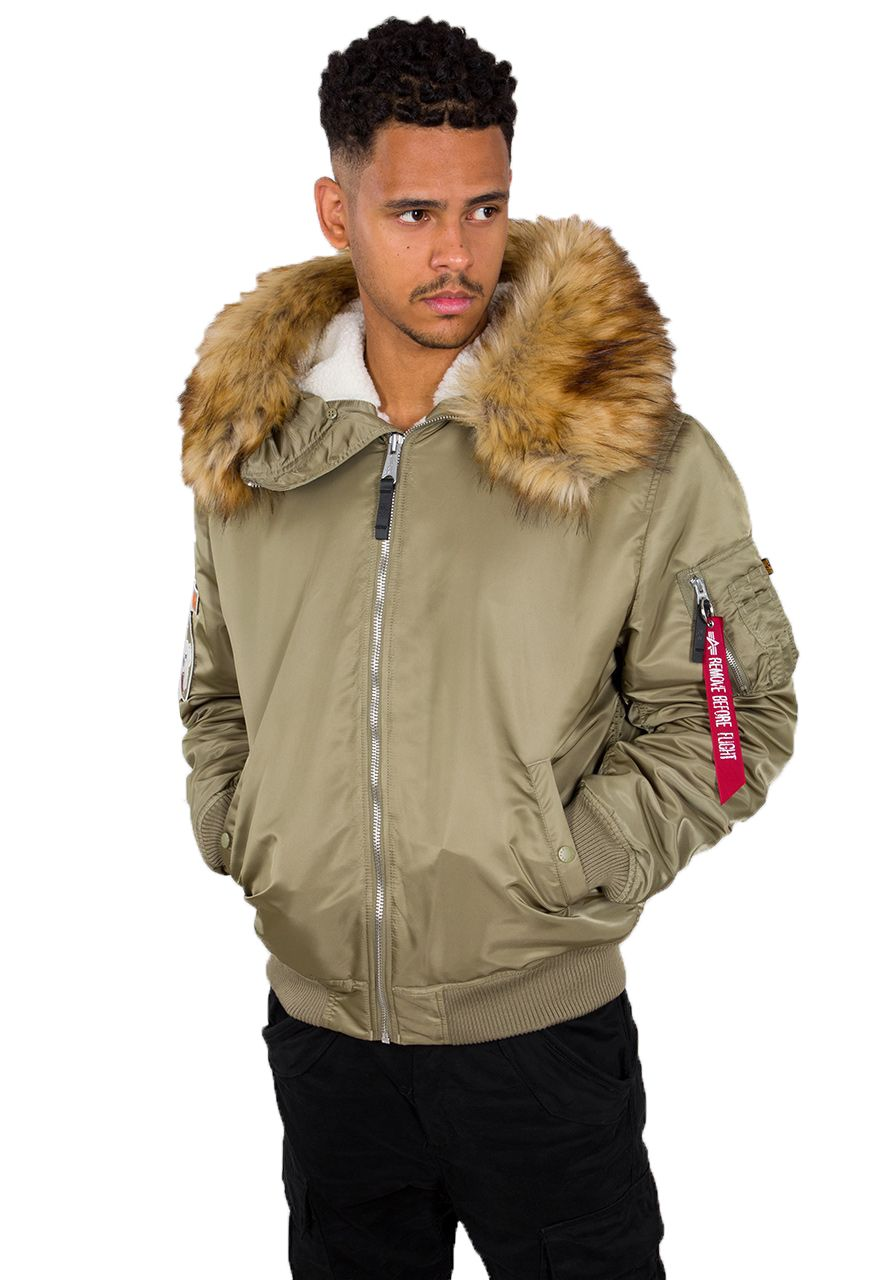 Alpha Industries MA1 Hooded Arctic (stratos)