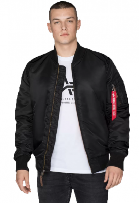 Alpha Industries bunda MA-1 VF 59 Long (black)