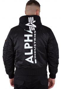 Alpha Industries MA-1 ZH Back Print