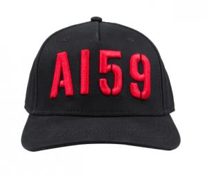 Alpha Industries 3D Cap (black/red)