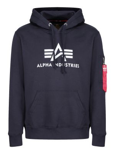 Alpha Industries 3D Logo Hoody (rep.blue)