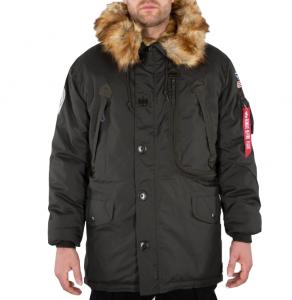 Polar Jacket (Black olive)