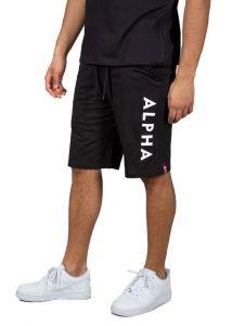 Alpha Industries pánské šortky Alpha Jersey Short (černé) | XL