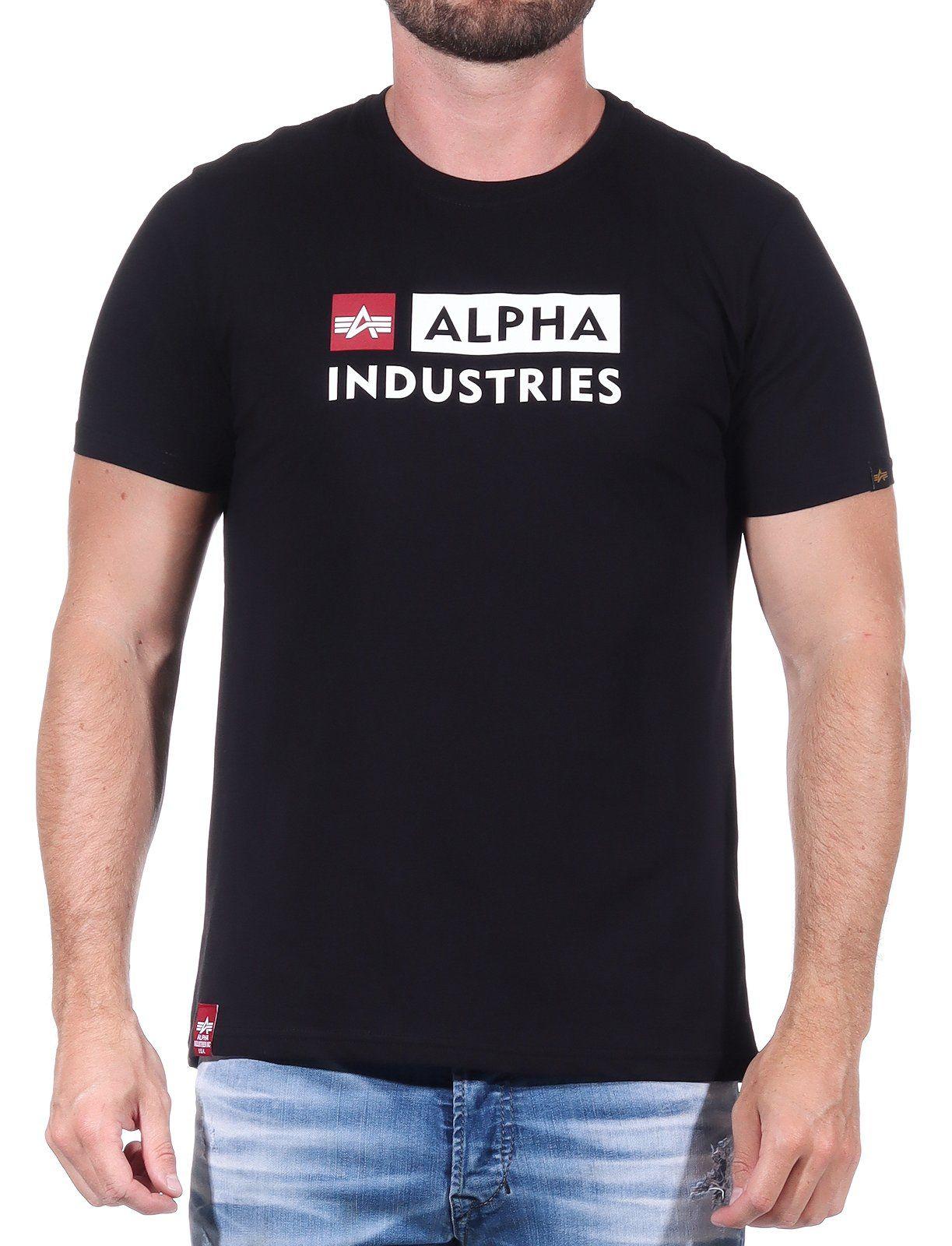 Alpha Industries Alpha Block-Logo T
