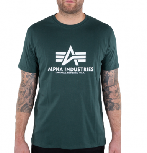 Alpha Industries Basic T (navy green)