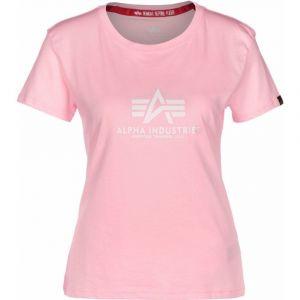 Alpha Industries dámské triko New Basic T (pastel pink)