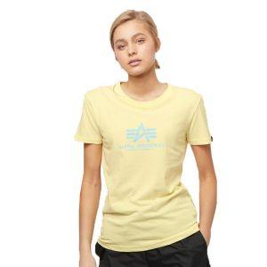 Alpha Industries dámské triko New Basic T (pastel yellow)