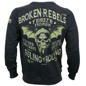 Yakuza Premium sweater YPSS 3124 B (black)