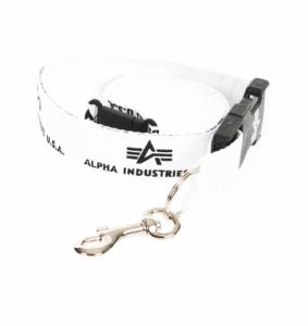 Alpha Industries klíčenka Lannyard bílá