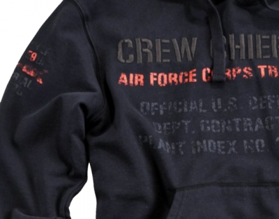 Alpha Industries mikina Crew Chief Hoody