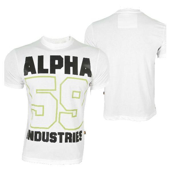 Alpha Industries tričko s potiskem T Print 11