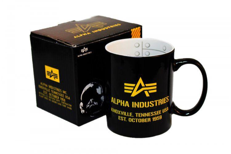 Alpha Industries Mug II černý