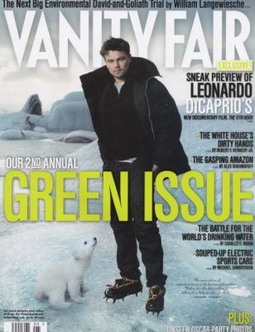 Leonardo DiCaprio v zimní bundě Alpha Industries