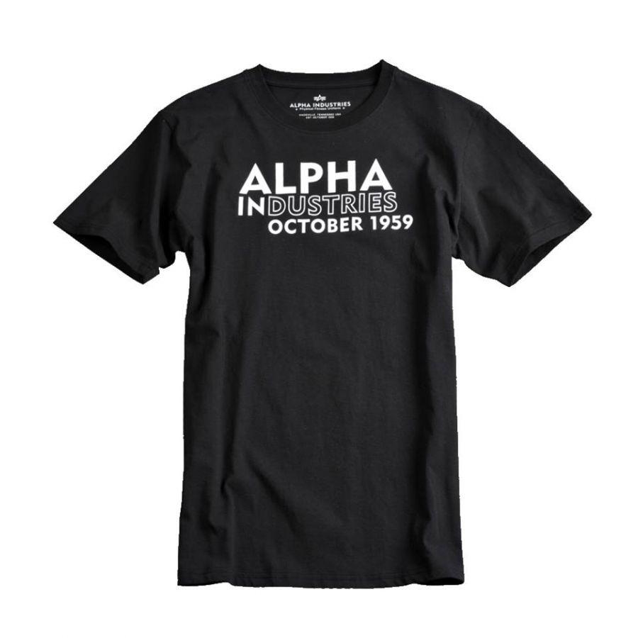 Triko s potiskem Alpha Industries T Print 23 - Etappa