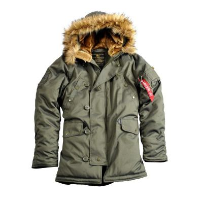 Alpha Industries bunda Explorer (green)