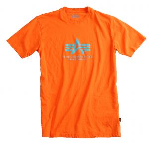 Alpha Industries triko Basic oranžová