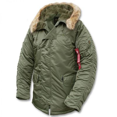 Alpha Industries N3B sage green