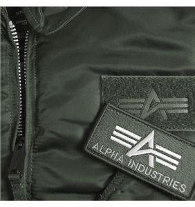 Alpha Industries bunda CWU45 repl. grey šedá
